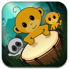 monkey-drum